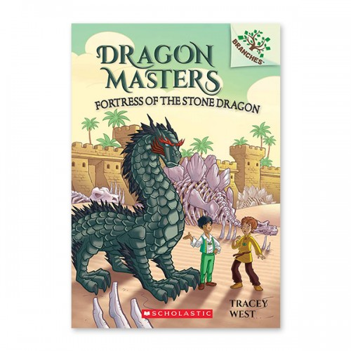 [스콜라스틱] Dragon Masters #17: Fortress of the Stone Dragon (A Branches Book) (Paperback)