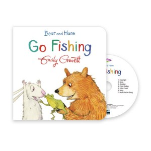 Pictory -Go Fishing(Book & CD)