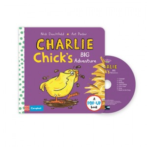 Pictory - Charlie Chick's Big Adventure (Book & CD)