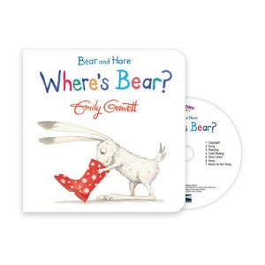 Pictory - Where's Bear? (Book & CD)