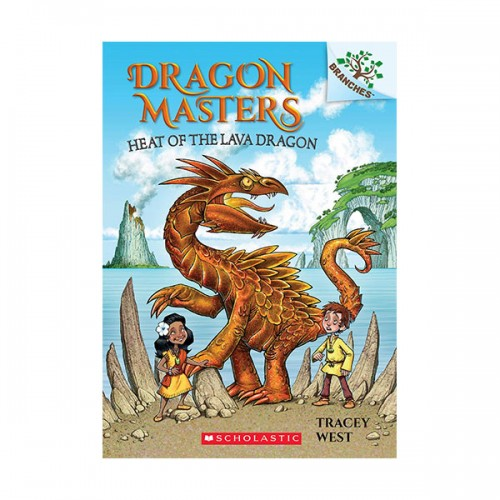 Dragon Masters #18: Heat of the Lava Dragon (A Branches Book) (Paperback)