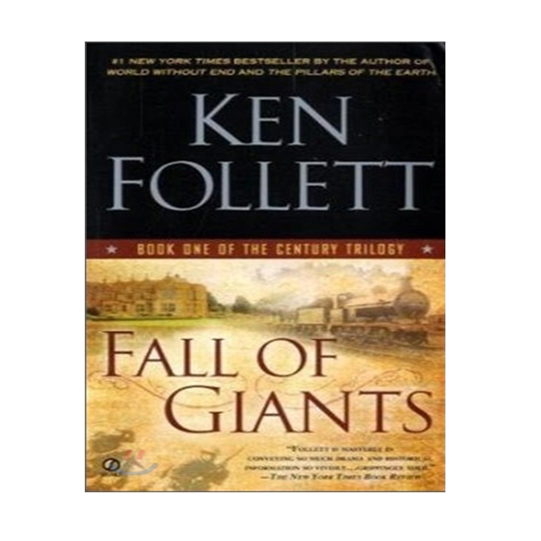 [파본:특A] The Century Trilogy #1 : Fall of Giants (Mass Market Paperback)