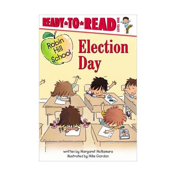 [파본]RL 1.7 : Ready To Read 1 : Robin Hill School : Election Day (paperback)