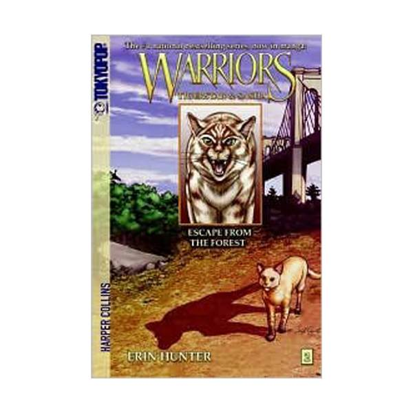 [파본]RL 2.7 [Warriors Manga] Tigerstar and Sasha #2: Escape from the Forest (Paperback)