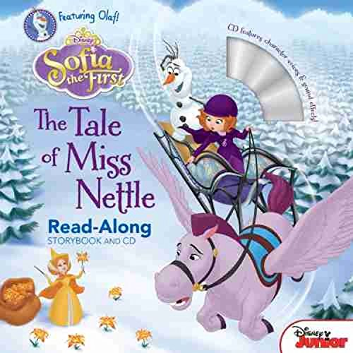 [파본]Sofia the First Read-Along Storybook and CD : The Tale of Miss Nettle (Paperback)
