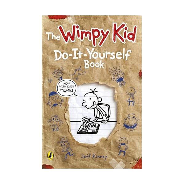 [파본:A급] Diary of a Wimpy Kid: Do-It-Yourself Book (Paperback, 영국판)