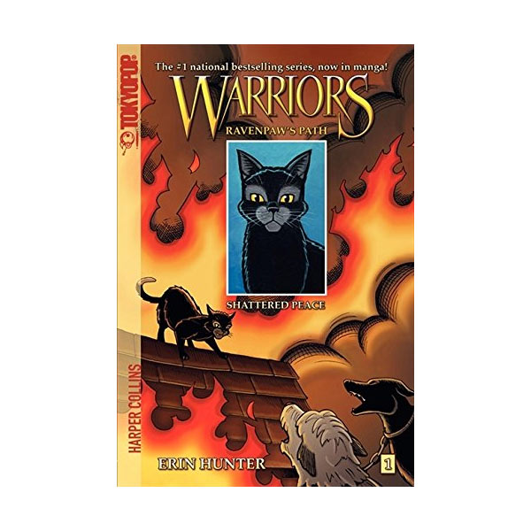 [파본] RL 2.7 [Warriors Manga] Ravenpaw's Path #1: Shattered Peace (Paperback)