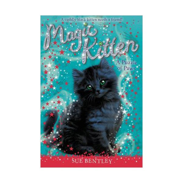 [파본:특A]RL 4.1 : Magic Kitten #12 : A Puzzle of Paws (Paperback)
