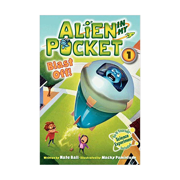 [파본:특A]Alien in My Pocket #1 : Blast Off! (Paperback)