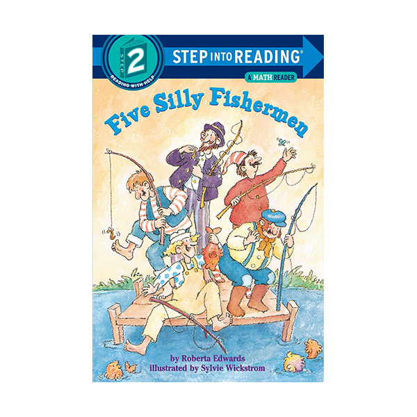 [파본:특A]RL 1.5 : Step Into Reading 2 : Five Silly Fishermen (Paperback)