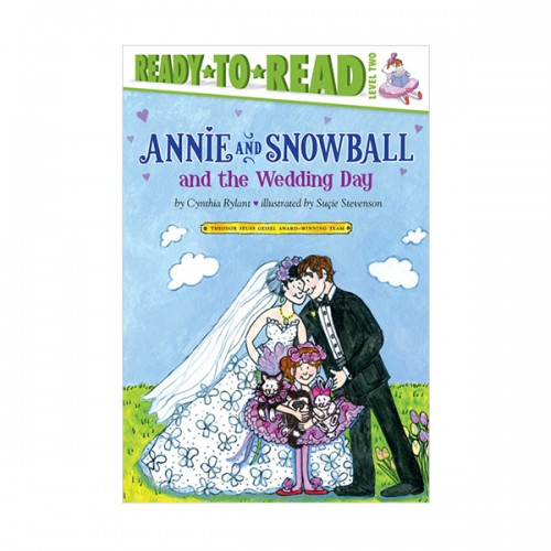 [파본:특A]Ready to Read Level 2 : Annie and Snowball and the Wedding Day (Paperback)