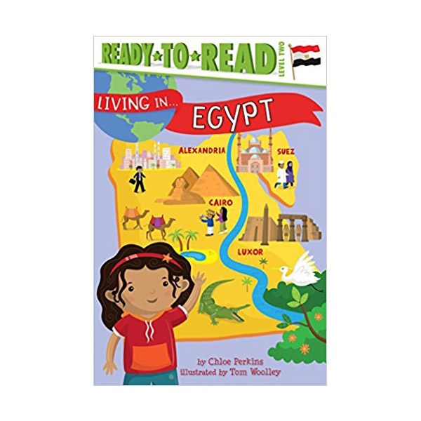 [파본]RL 4.6 : Ready To Read 2 : Living in . . . Egypt (Paperback)