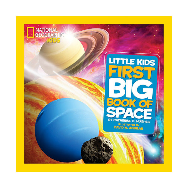 [파본:A급]National Geographic Little Kids First Big Book of Space (Hardcover)