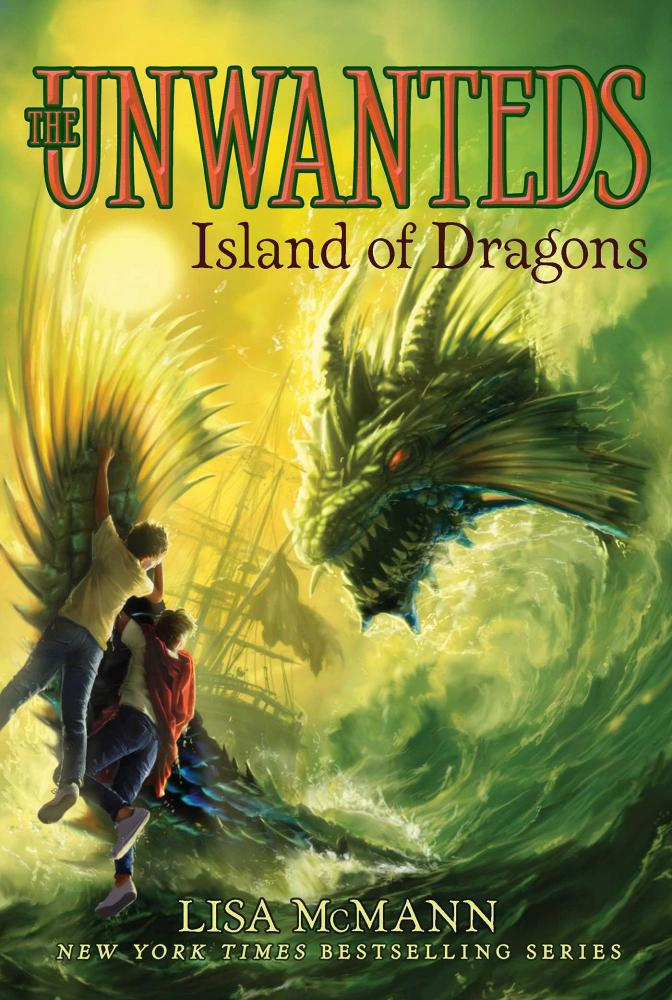 [파본:A급] The Unwanteds #7 : Island of Dragons (Paperback)
