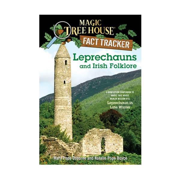 [파본]RL 5.2 : Magic Tree House Fact Tracker #21 : Leprechauns and Irish Folklore (Paperback)