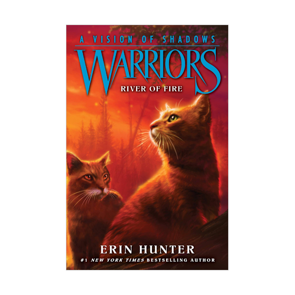 [파본:상태A]R.L 5.5 [Warriors 6부] A Vision of Shadows #5 : River of Fire (Paperback)
