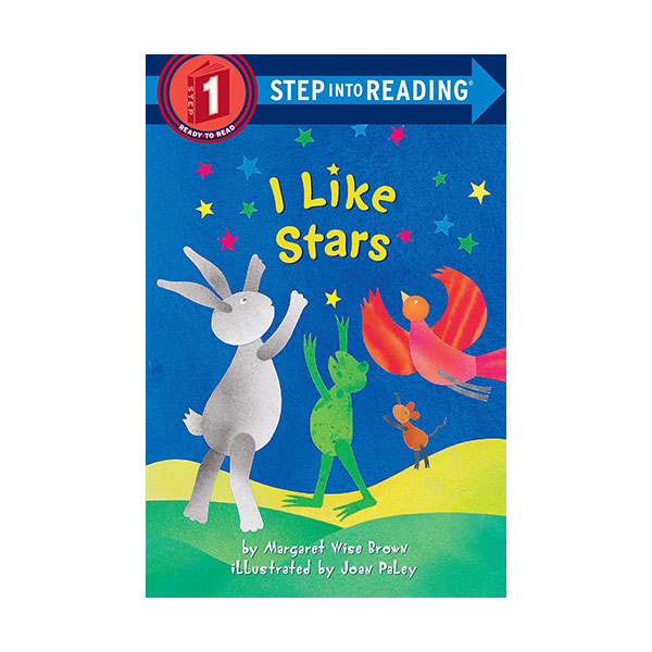 [파본:특A, 표지 제본 살짝불량]Step Into Reading 1 : I Like Stars (Paperback)