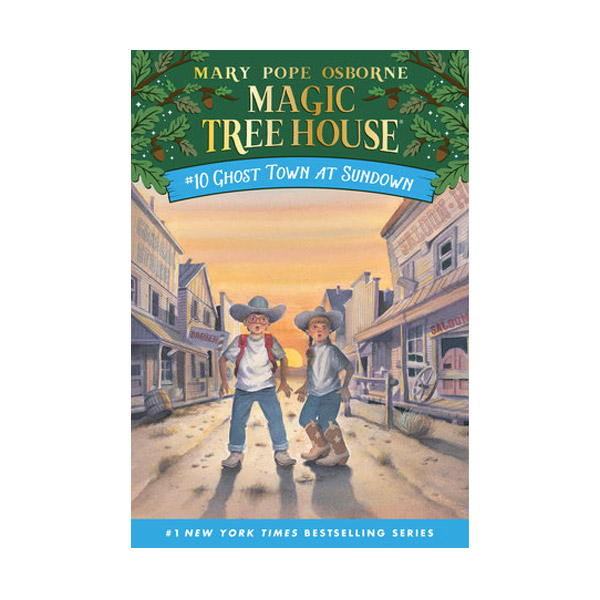 [파본:구판특A]RL 3.0 : Magic Tree House #10 : Ghost Town At Sundown (Paperback)