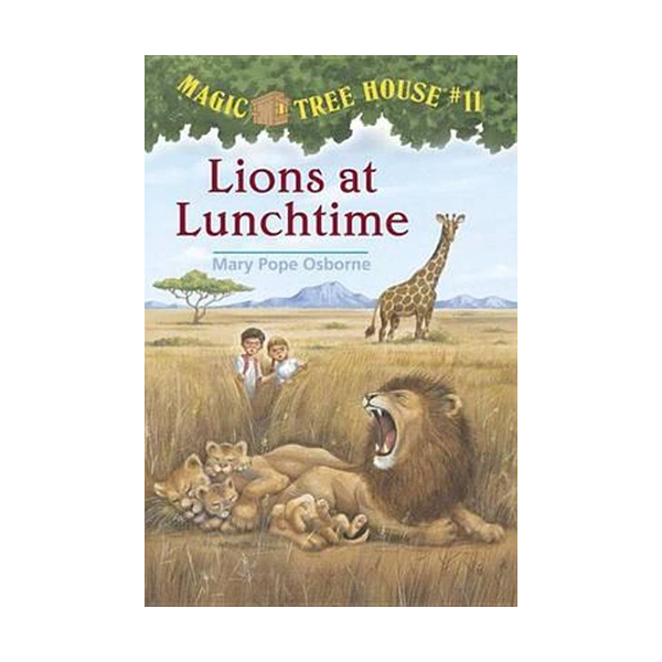 [파본:구판특A]RL 3.0 : Magic Tree House #11 : Lions at Lunchtime (Paperback)