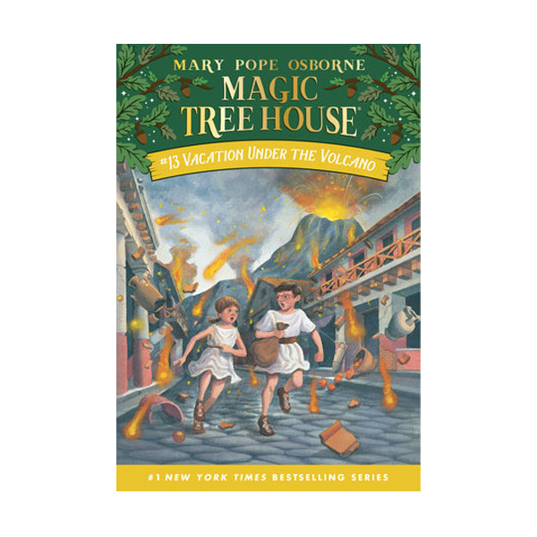 [파본:구판특A]Magic Tree House #13 : Vacation Under the Volcano (Paperback)