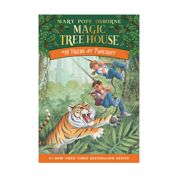 [파본:구판특A]]RL 3.0 : Magic Tree House #19 : Tigers At Twilight (Paperback)