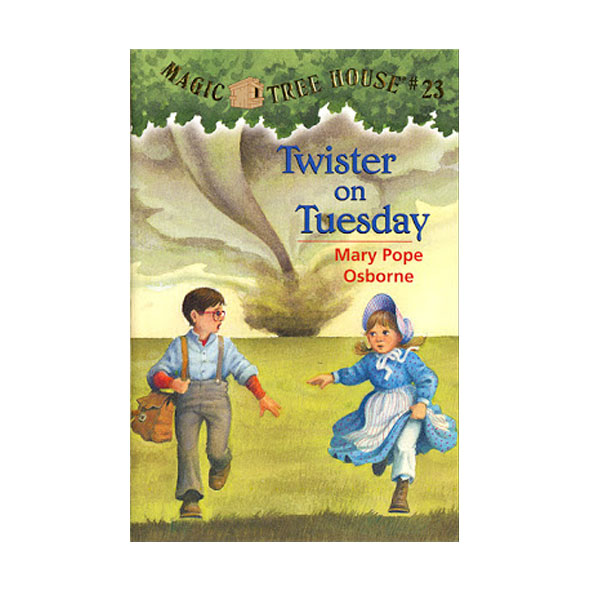 [파본:구판특A]Magic Tree House #23 : Twister on Tuesday (Paperback)