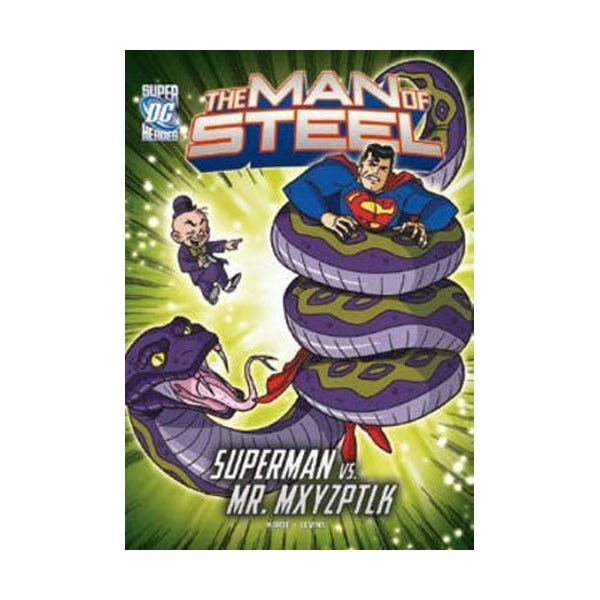 [파본:특A]RL 4.9 : DC Super Heroes : The Man of Steel : Mxy's Magical Mayhem (Paperback)
