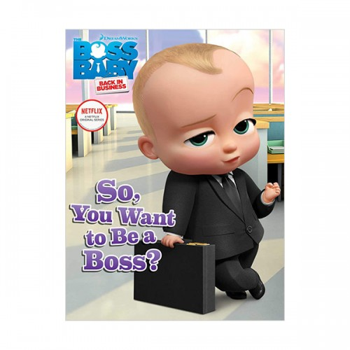 [파본:특A][넷플릭스] So, You Want to Be a Boss?  (Paperback)