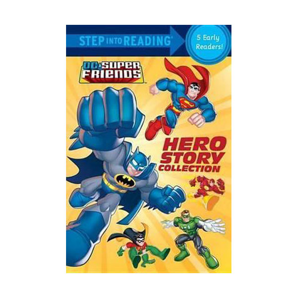 [파본]Step into Reading : DC Super Friends Hero Story Collection(Paperback)