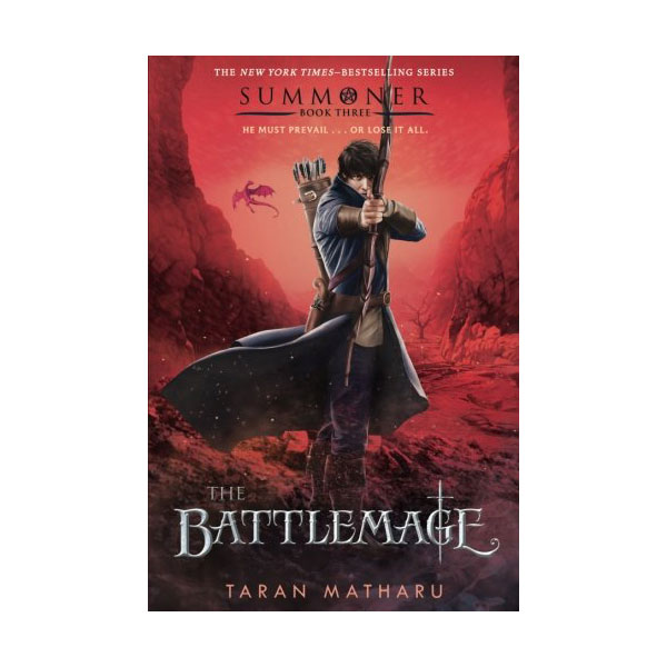 [파본:특A]RL 6.7 : The Summoner Trilogy #3 : The Battlemage (Paperback)