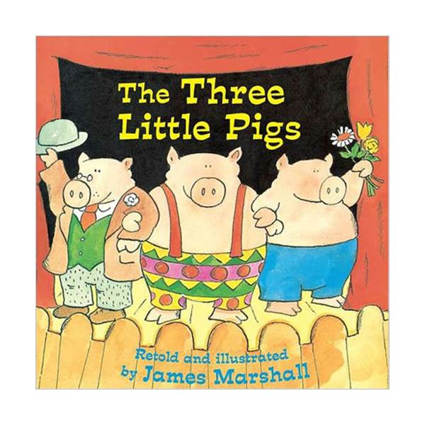 [파본]The Three Little Pigs (Paperback)