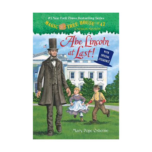 [구판★할인] Magic Tree House #47( Merlin Missions #19) Abe Lincoln at Last! (Paperback)