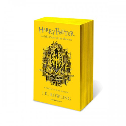 [파본:특A][기숙사판/영국판] 해리포터 #05 : Harry Potter and the Order of the Phoenix - Hufflepuff Edition (Paperback)