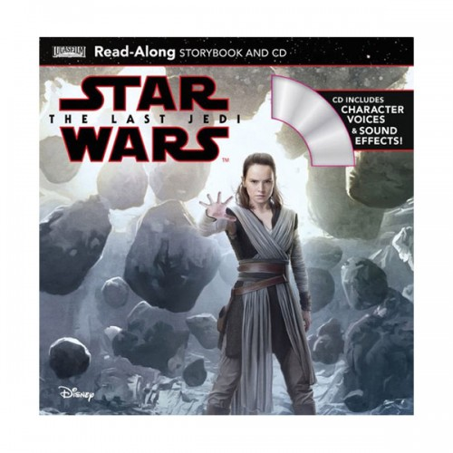 [파본]Disney Read-Along Storybook : Star Wars : The Last Jedi : 스타워즈 라스트 제다이 (Book & CD)