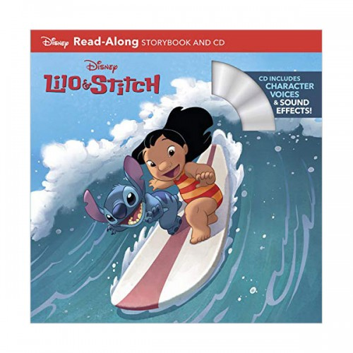 [파본:특A]Disney Read-Along Storybook : Lilo & Stitch : 릴로와 스티치 (Book & CD)
