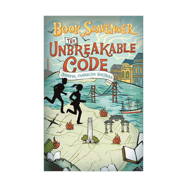 [파본]The Book Scavenger #02 : The Unbreakable Code (Paperback)