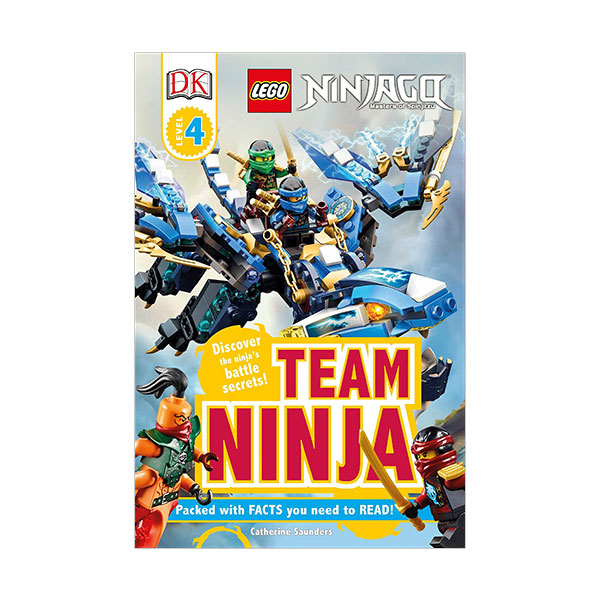 [파본]RL 6.6 : DK Readers Level 4 : LEGO NINJAGO : Team Ninja! (Paperback)