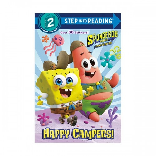 [파본]Step Into Reading 2 : The SpongeBob Movie: Sponge on the Run: Happy Campers! (Paperback)