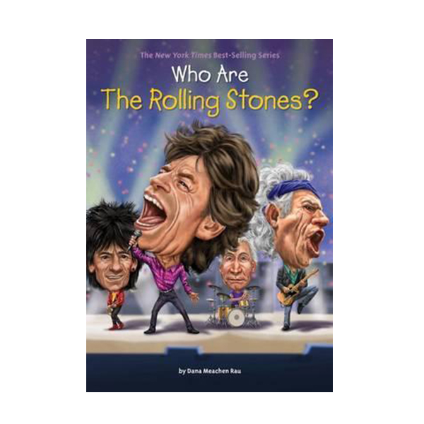 [파본]Who Was? : Who Are the Rolling Stones? (Paperback)