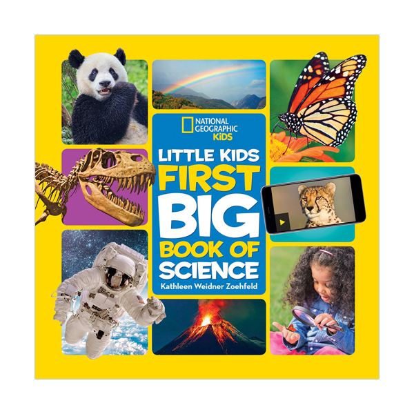 [파본:특A]National Geographic Little Kids First Big Book of Science (Hardcover)