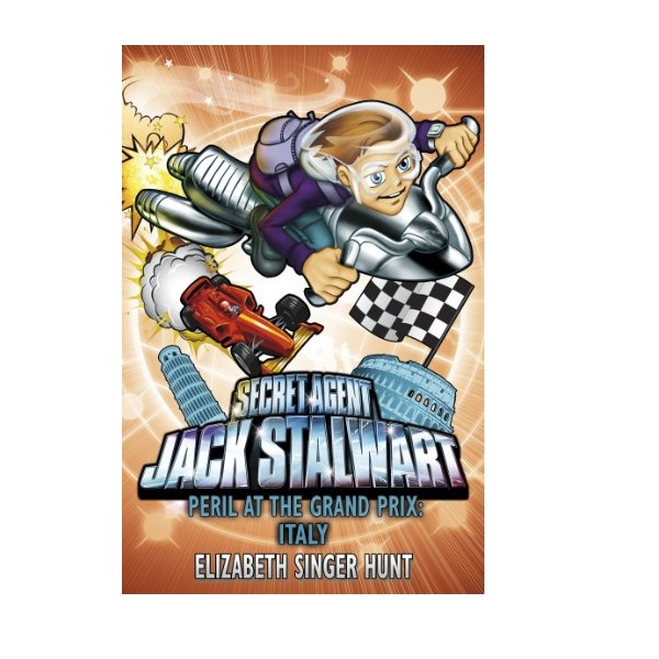 [파본]Secret Agent Jack Stalwart #08 : Peril at the Grand Prix : Italy (Paperback,영국판)