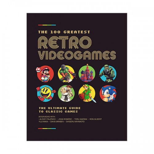 [파본:상태A급]The 100 Greatest Retro Videogames (Hardcover, 영국판)