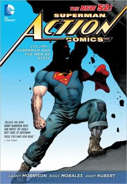 [파본:A급]Superman - Action Comics Vol. 1 : Superman and the Men of Steel (The New 52) (Paperback)