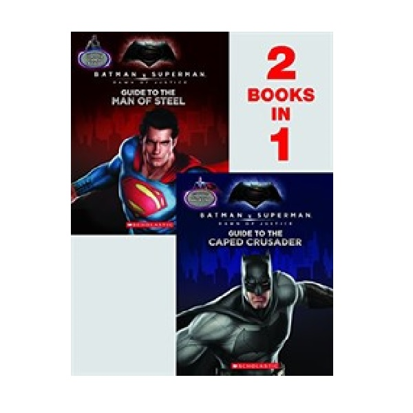 [파본:A급] Batman V Superman : Dawn Of Justice : Guide to the Caped Crusader / Guide to the Man of Steel: Movie Flip Book (Paperback)