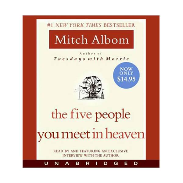 [파본:오디오박스파손]The Five People You Meet in Heaven (Audiobook)