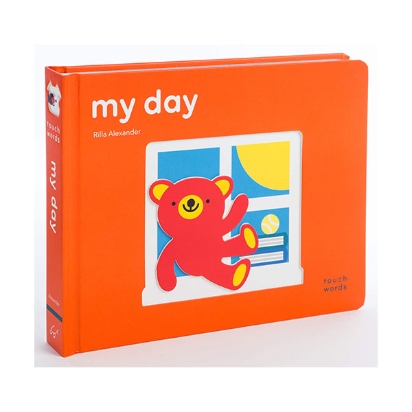 [파본:r겉표지훼손]Touch Words : My Day (Board book)