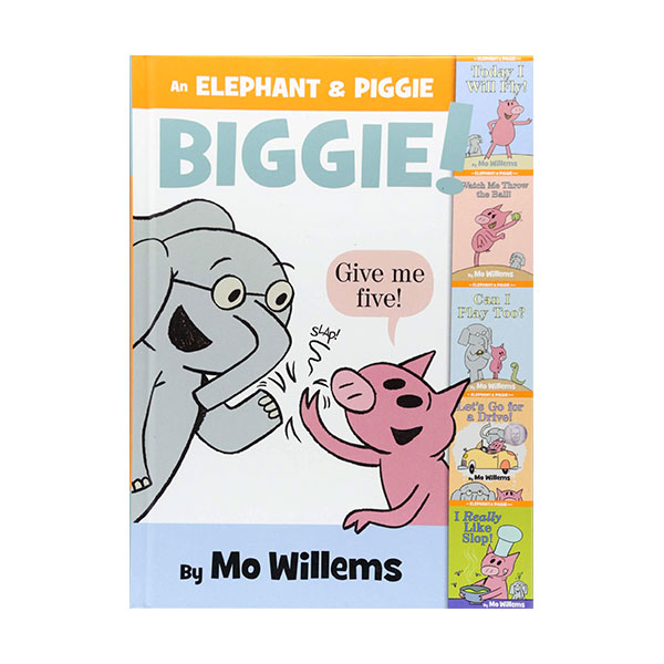 [파본:특AA]RL 3.3 : An Elephant & Piggie Biggie! : An Elephant and Piggie Book (Hardcover, 5종합본)