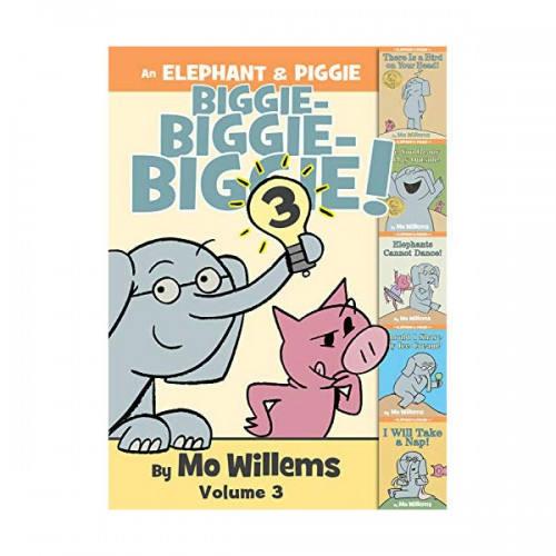 [파본:특AA]Elephant & Piggie Biggie : Volume 3 (Hardcover, 5종 합본)