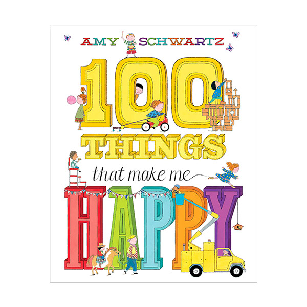 [파본:특A]100 Things That Make Me Happy (Hardcover)
