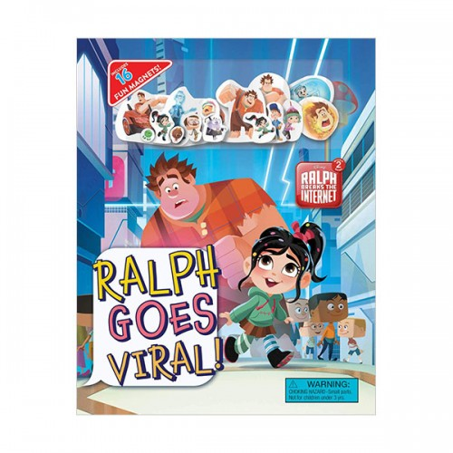 [파본:A급]Disney Ralph Breaks the Internet : Ralph Goes Viral (Hardcover)